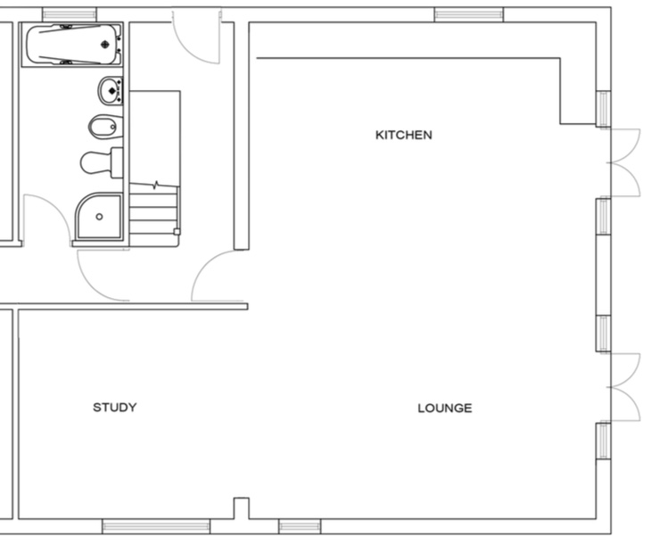 Downstairs Plan New