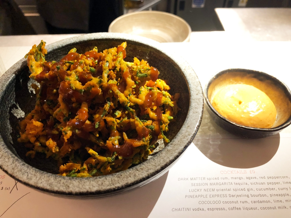 Kricket Samphire Pakoras