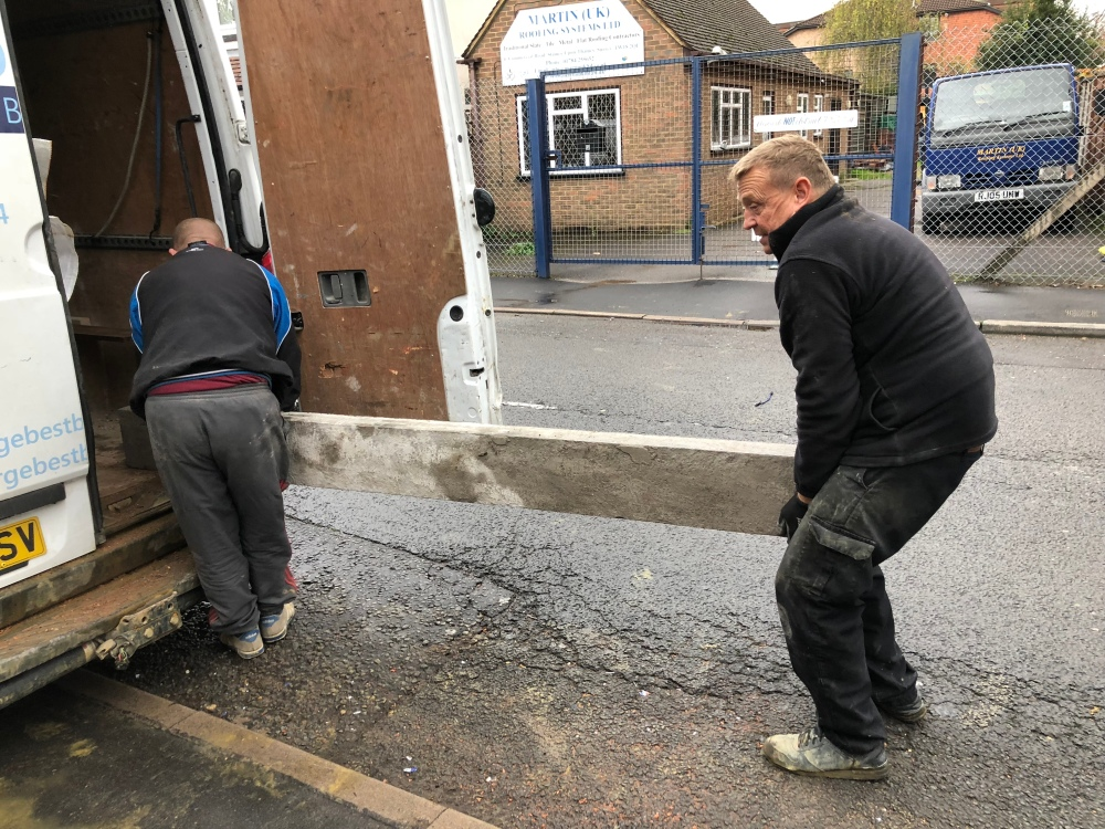 Lintel Delivery with Mr Terry Best
