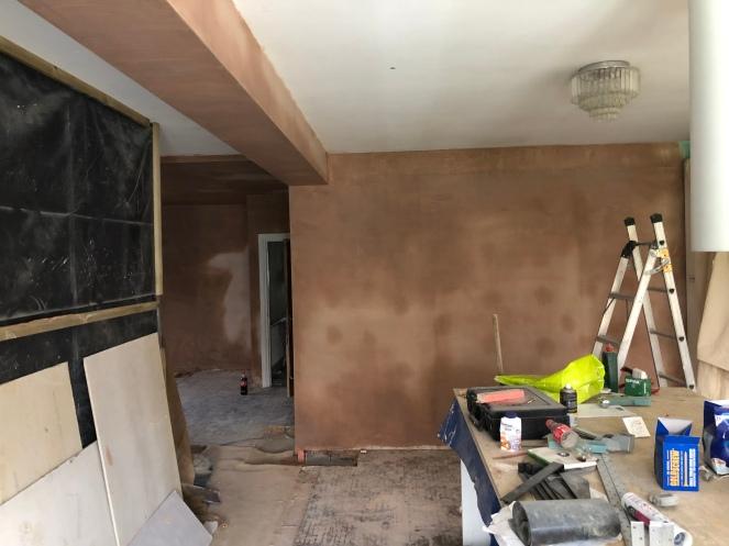 Downstairs Plastering 3