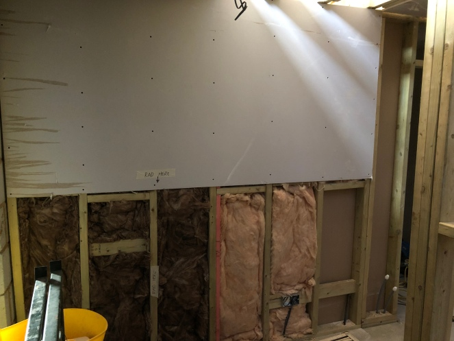 Internal wall with Insulation