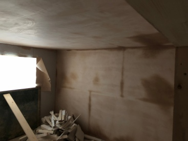 Front Bedroom Plastered